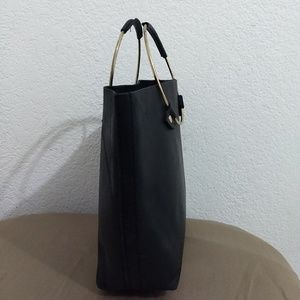 tribe alive Bags - Tribe Alive Black Small Leather Tote